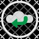 Cloud Access Enter Icon