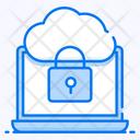 Cloud Access Cloud Security Cloud Protection Icon