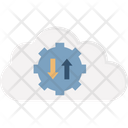 Cloud Access Cloud Computing Cloud Control Icon