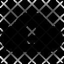 Cloud Access Locked Cloud Cloud Security Icon
