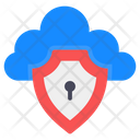 Cloud Access Cloud Key Cloud Security Icon
