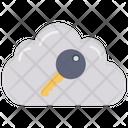 Cloud Access Key Cloud Key Key Icon