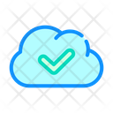 Accept Access Cloud Icon