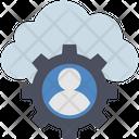 Cloud Computing Account Icon