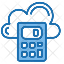 Cloud Calculator Tools Account Icon