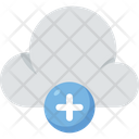 Cloud Computing Add Plus Icon