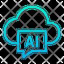 Ai Artificial Cloud Icon