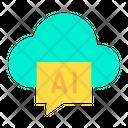 Cloud Ai Icon