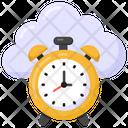 Cloud Timer Cloud Alarm Alarm Icon
