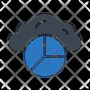 Graph Chart Cloud Icon