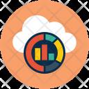 Cloud Online Graph Icon