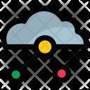 Cloud Analytics Graph Icon
