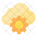 Cloud analytic Icon