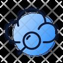 Cloud Analytics Data Icon