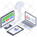 Cloud Analytics Icon