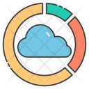 Cloud Analytics Cloud Computing Cloud Technology Icon
