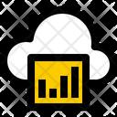 Cloud Analytics Cloud Analysis Chart Icon