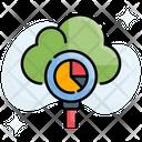 Cloud Report Data Analytics Icon