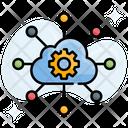 Cloud Analytics Web Statistics Icon
