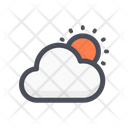 Cloud Sun Summer Sun Icon