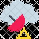Cloud Antenna Icon