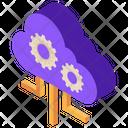 Api Fintech Cloud Icon