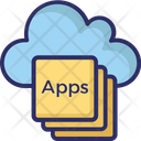 Apps Cloud Apps Apps Layers Icon