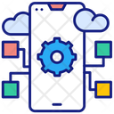 Cloud Apps Icon