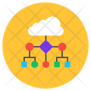 Cloud Architecture Cloud Network Cloud Computing Icon