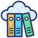 Cloud Archives Cloud Library Cloud Computing Icon
