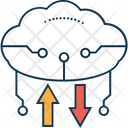 Cloud Arrows Icon