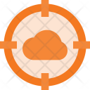 Cloud attack Icon