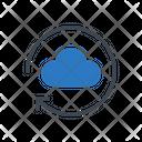 Cloud Hosting Backup Icon