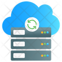 Cloud Backup Cloud Sync Cloud Refresh Icon