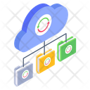 Cloud Backup Cloud Syncing Cloud Refresh Icon
