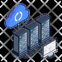 Cloud Storage Cloud Backup Cloud Restore Icon