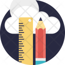 Cloud Based Cad Software Icon