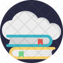 Cloud Based Education Icon