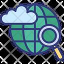 Cloud based internet Icon