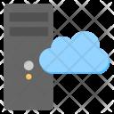 Cloud Based Server Icon
