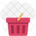 Cloud Basket Icon