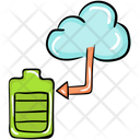 Cloud Battery Icon
