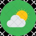Cloud Sun Sunlight Icon