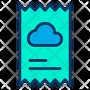 Cloud Bill Icon