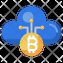 Cloud Bitcoin Bitcoin Ui Icon
