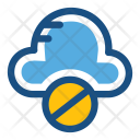Cloud Blocked Icon