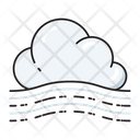 Cloud Blowing Weather Icon