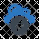 Cloud Bolt Icon