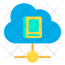 Cloud Book Icon