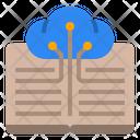 Cloud Book Digital Library Digital World Icon